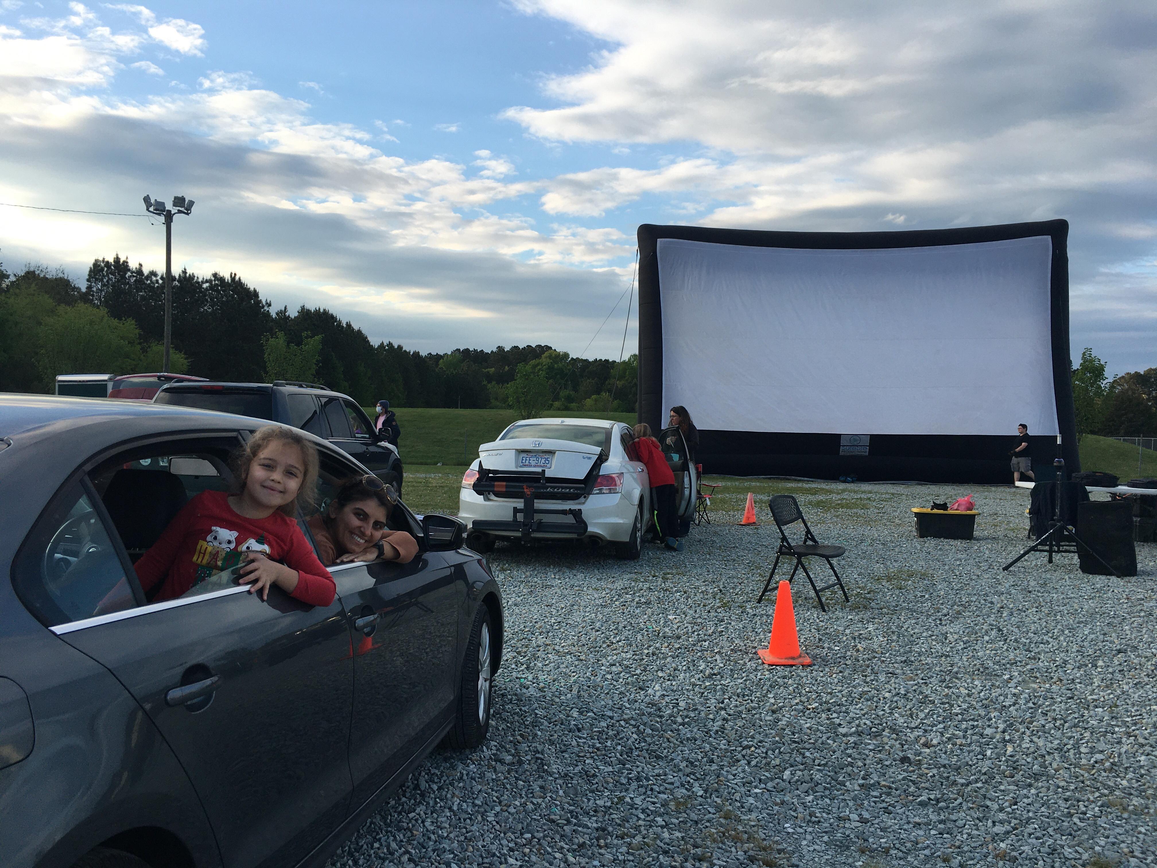 Drive-in movie theatre - Durham