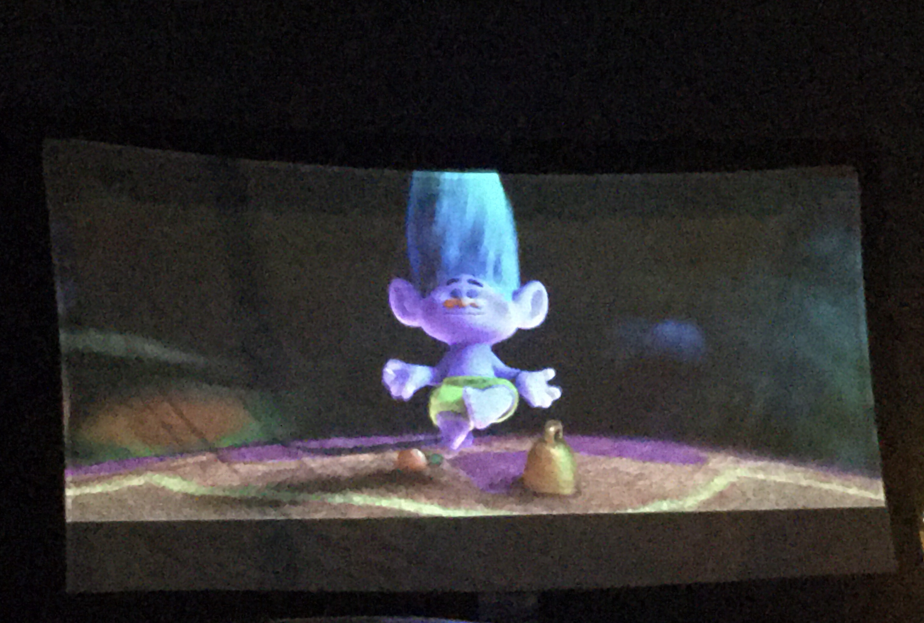 Drive-in movie theatre - Trolls