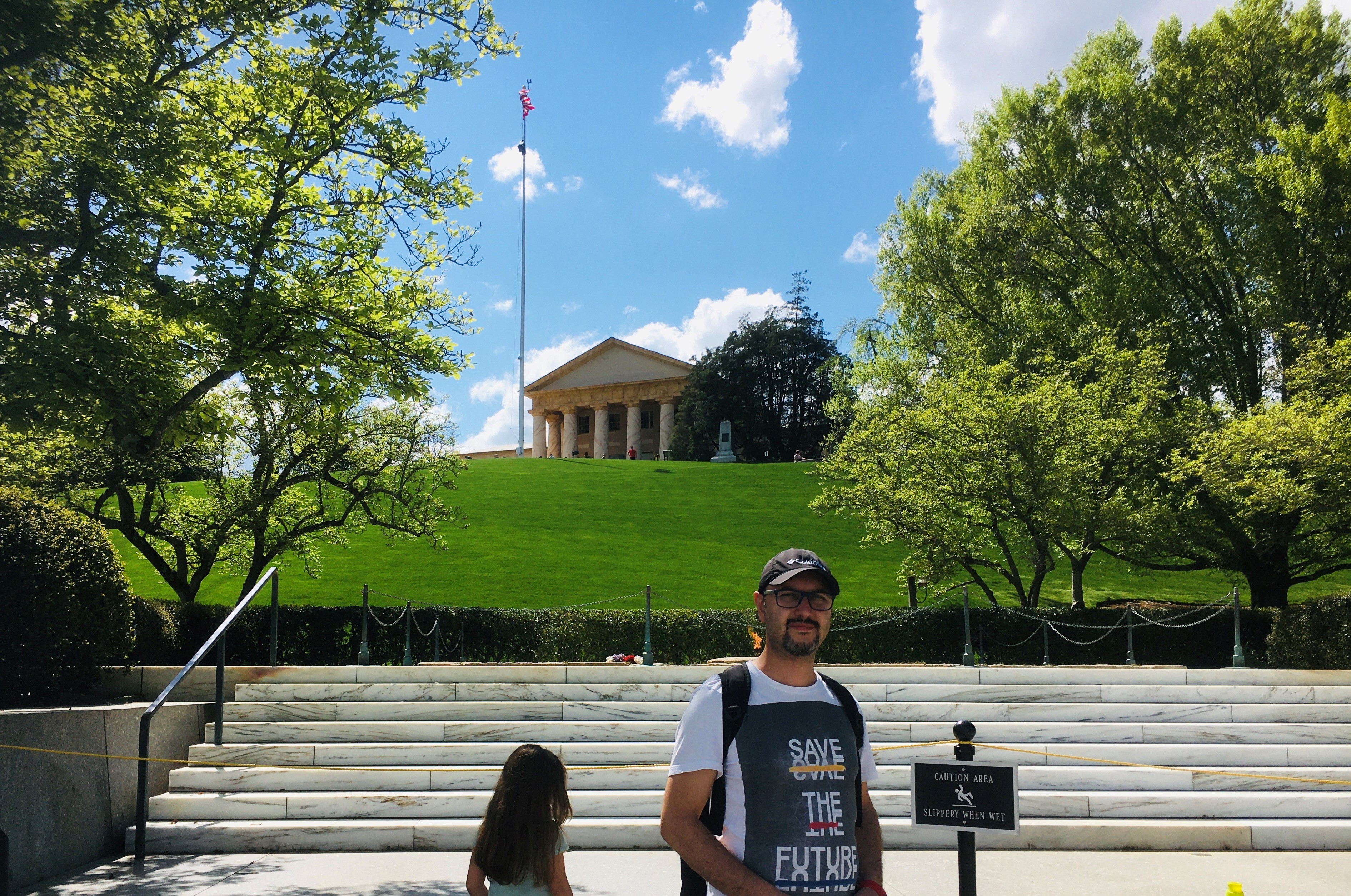 Arlington National Cemetery The John F. Kennedy gravesite
