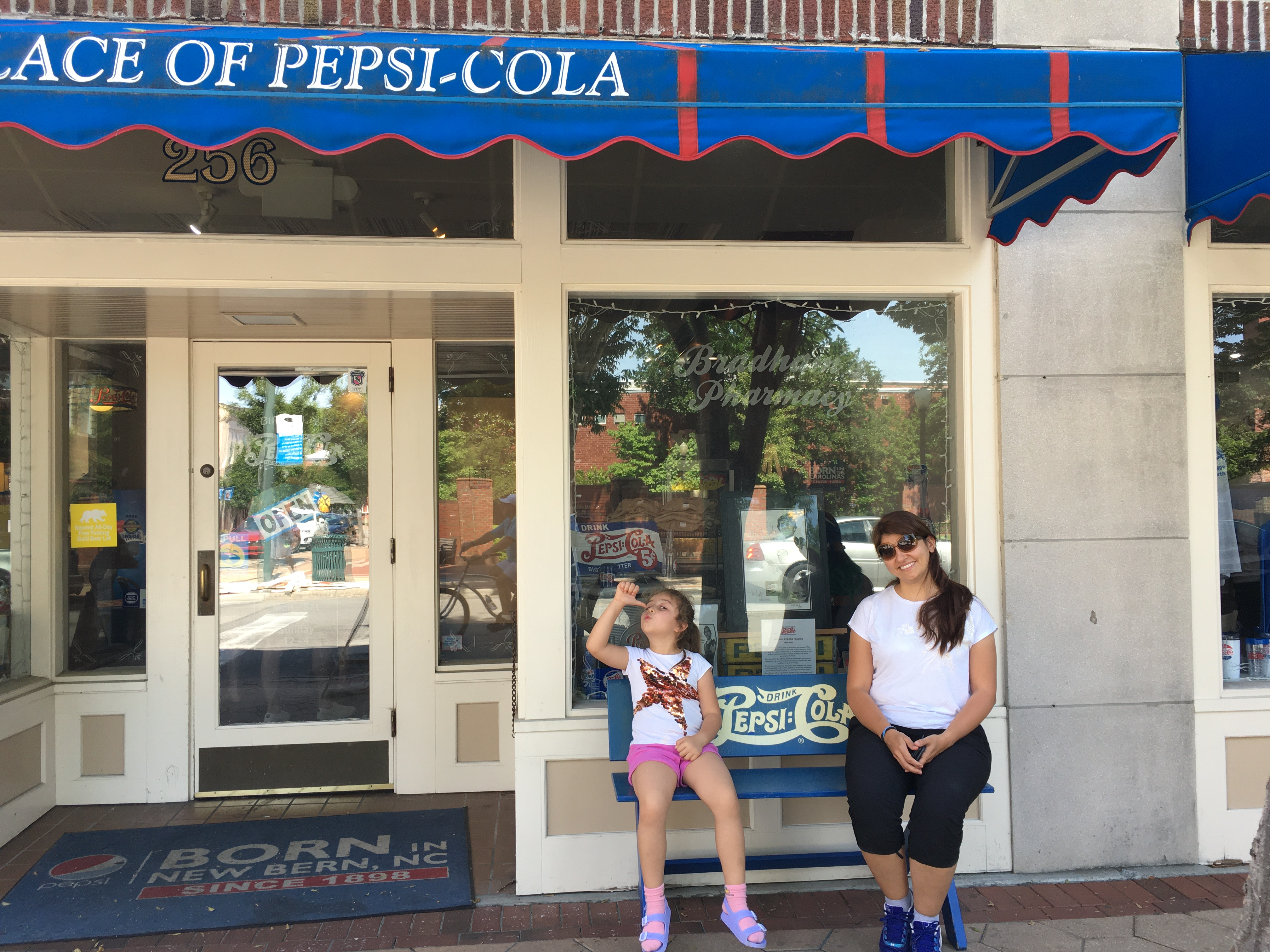 The Birthplace of Pepsi-Cola