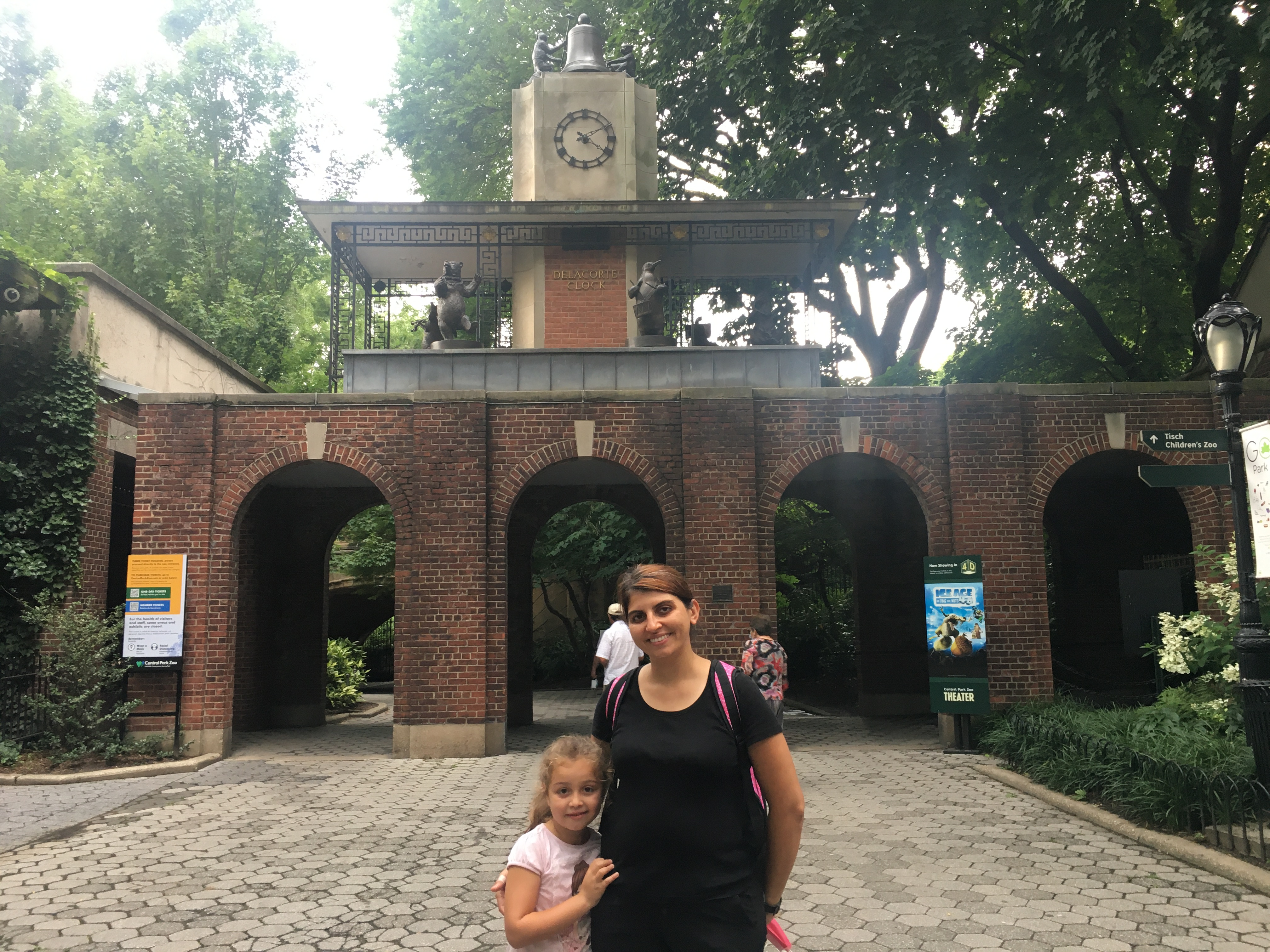 Central Park Zoo Gate